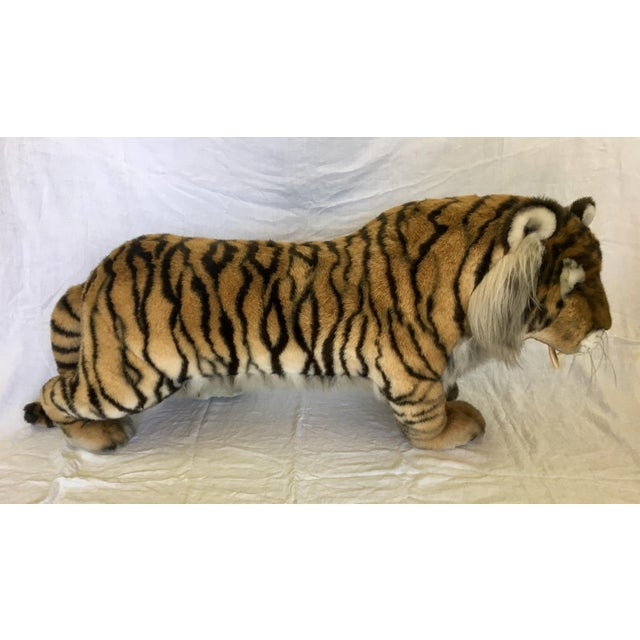 Vintage Nordstrom's Advertising Display Life Sized Plush Tiger - Image 5 of 11