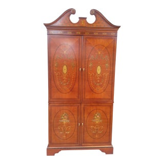 Drexel Heritage French Inspired Tall Cabinet