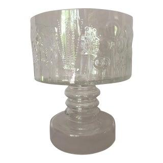 Oiva Toikka for Iittala Flora Pedestal Glass Bowl