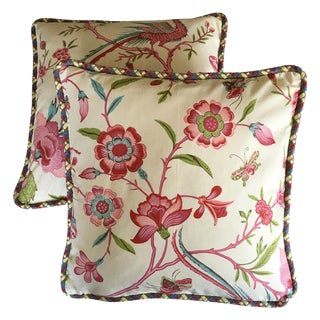 Brunschwig Fils Nemour Pillow Covers - A Pair