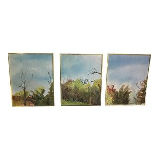 Vintage Landscape Paintings - Set of 3