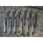 Image of 1847 Rogers Bros Fruit Forks - Set of 12