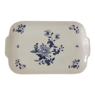 "Raynaud Limoges Porcelain Small Serving Tray ""Amphitrite"""