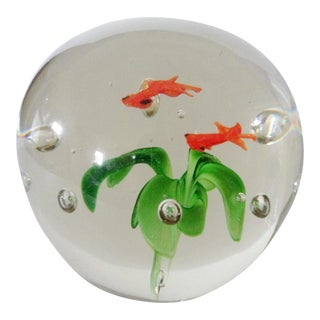 Fish Bowl Paper Weight