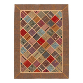 """Apadana - Persian Flat-weave, 5'8"""" x 9'7"""""""