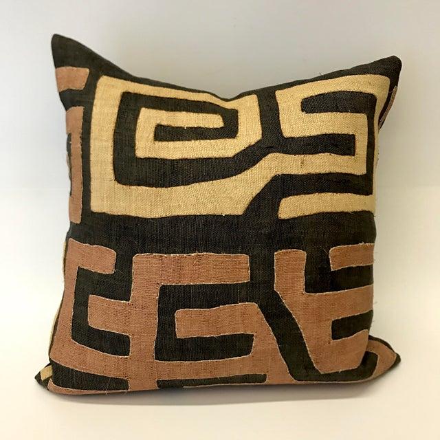 African Kuba Cloth Pillow - Image 2 of 5