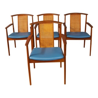 Moreddi Skovmand & Andersen Dining Chairs - Set of 4