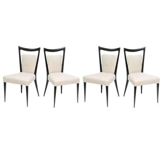 Set of Four Italian Chairs by Melchiorre Bega