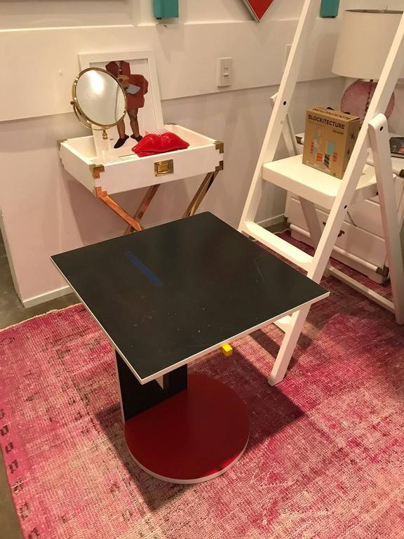 Memphis Movement Side Or Occasional Table By De Stijl Schroeder For Cassina    Image 7 Of