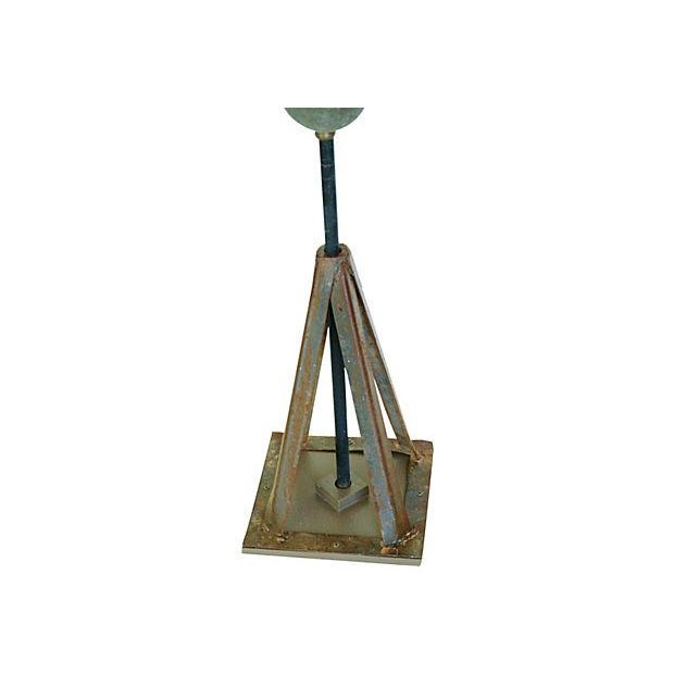 Vintage Copper Eagle Weathervane with Stand - Image 5 of 7