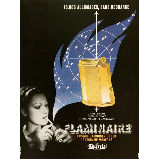 Vintage Poster Art - Flaminaire, C. 1930 - Image 1 of 3
