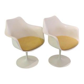 Eero Saarinen Vintage Tulip Chairs - A Pair