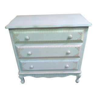 Beautiful 3 Drawer Painted Dresser