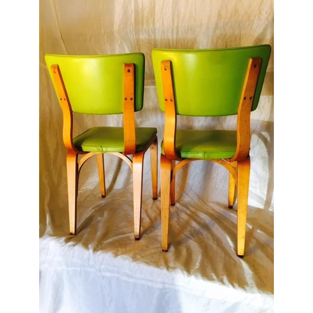 Vintage Mid-Century Original Thonet Chairs - Image 4 of 6