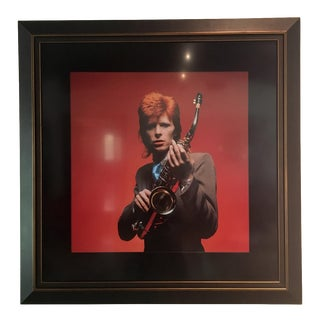 Framed David Bowie Photo, 1973 Limited Edition