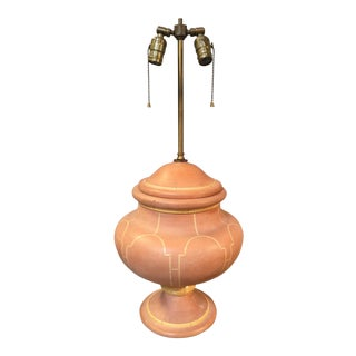 French Style Tan Lamp