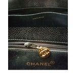 Image of Chanel Black Caviar Grand Chain Tote Bag