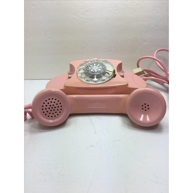 Pink Princess Rotary Dial Phone - Image 3 of 11
