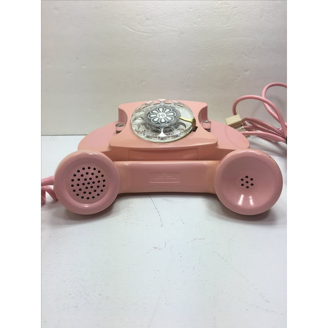 Image of Pink Princess Rotary Dial Phone