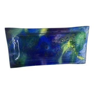 Ornaglass Modernist Art Glass Tray
