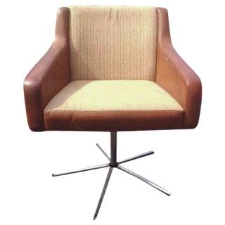 German Mid-Century Swivel Lounge Chair