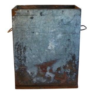 Vintage Industrial Ice Mold Vessel