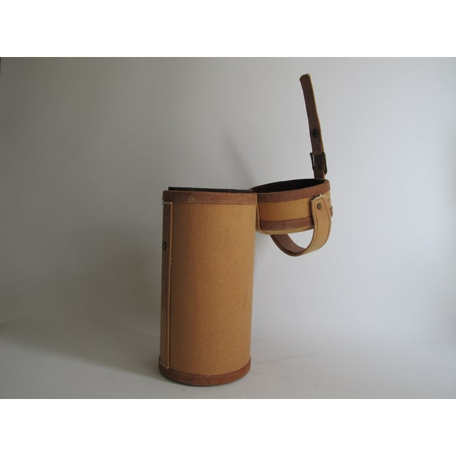 Tweed And Suede Wine Carrier - Image 4 of 8