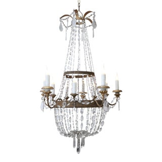 Italian Empire Ten-Light Chandelier