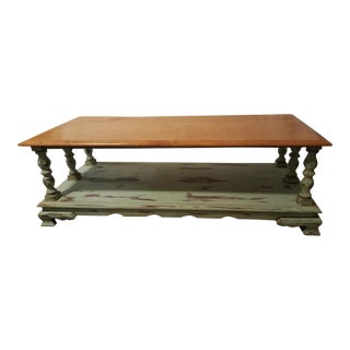 Vintage French Country Inspired Coffee Table