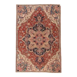 """Apadana - Antique Persian Serapi Rug, 6'9 x 10'5"""""""