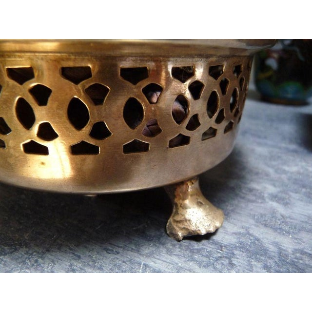 Antique Silver Dish With Handle - Image 3 of 4