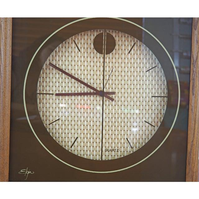 1970s Elgin Wall Clock - Image 7 of 8