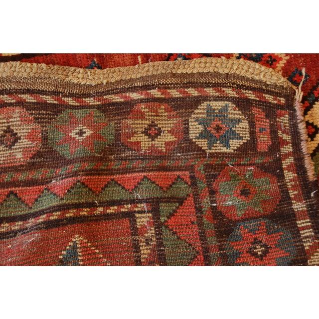 19th Century Caucasian Kazak Rug - 3′4″ × 7′2″ - Image 7 of 7