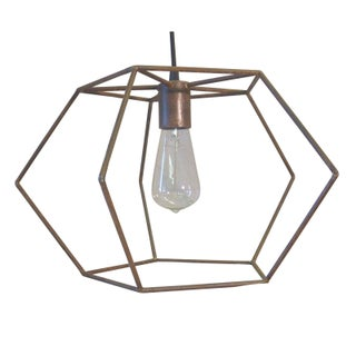 Penta Light Pendant in Rust