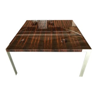 """Liko"" High Gloss Ebony Table"