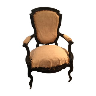 Antique French Napoleon Era Armchairs - A Pair