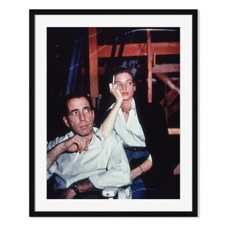 """Bacall and Bogart"" Framed Photography by Hulton"