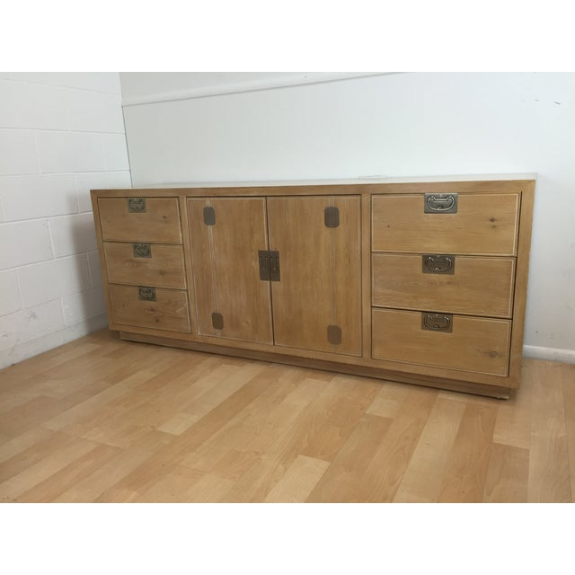 Washed Oak Henredon Dresser - Image 2 of 5