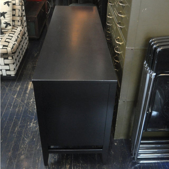 Black Lacquered Mid-Century Modern Credenza - Image 2 of 9