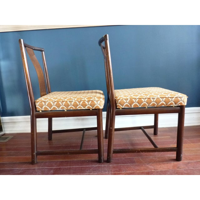 Asian Inspired Dining Chairs - A Pair - Image 4 of 11