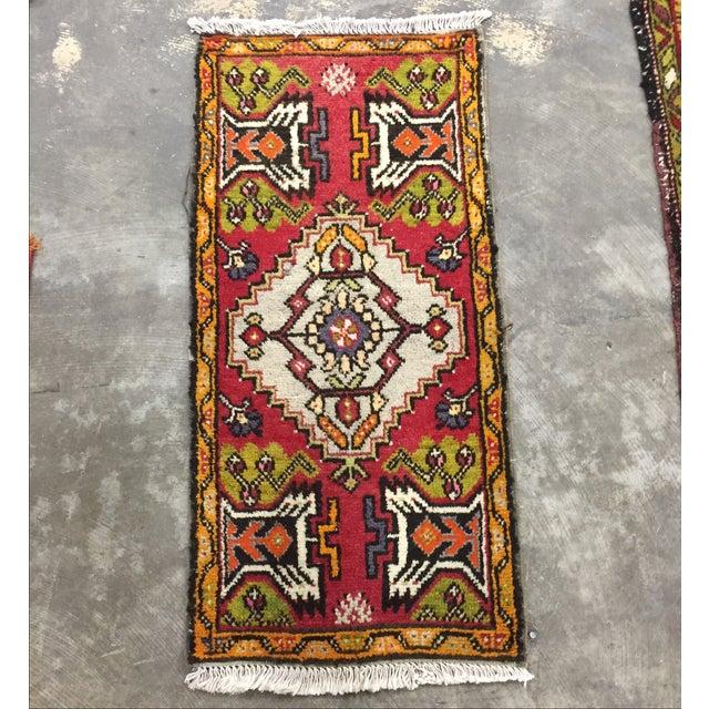 "Antique Anatolian Persian Rug - 1'7"" x 3'4"" - Image 2 of 8"