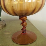 Image of Large Vintage Pedestal Bowl
