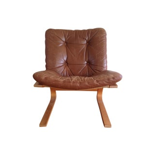 Rykken of Norway Danish Modern Lounge Chair
