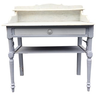 Antique French Farmhouse Dry Sink Stand