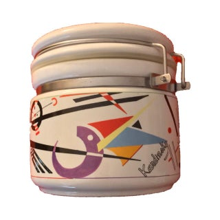 Chaleur Masters of Abstract Kadinsky Ceramic Jar