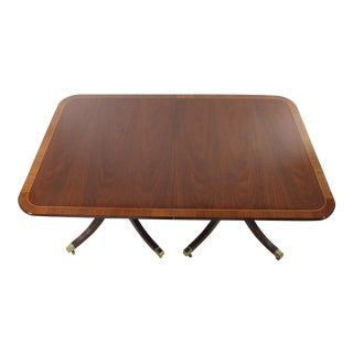Baker Furniture Mahogany Dining Table