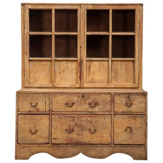 Swedish Two-Part Cabinet