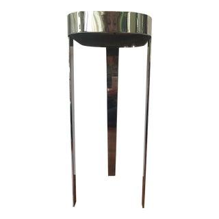 Mid-Century Chromed Steel Cocktail Table