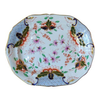 Large English Ironstone Platter