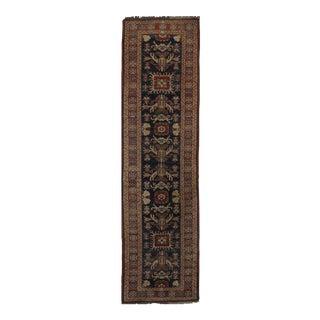 """Pasargad NY Kazak Design Lamb's Wool Rug - 2'7"""" X 9'10"""""""